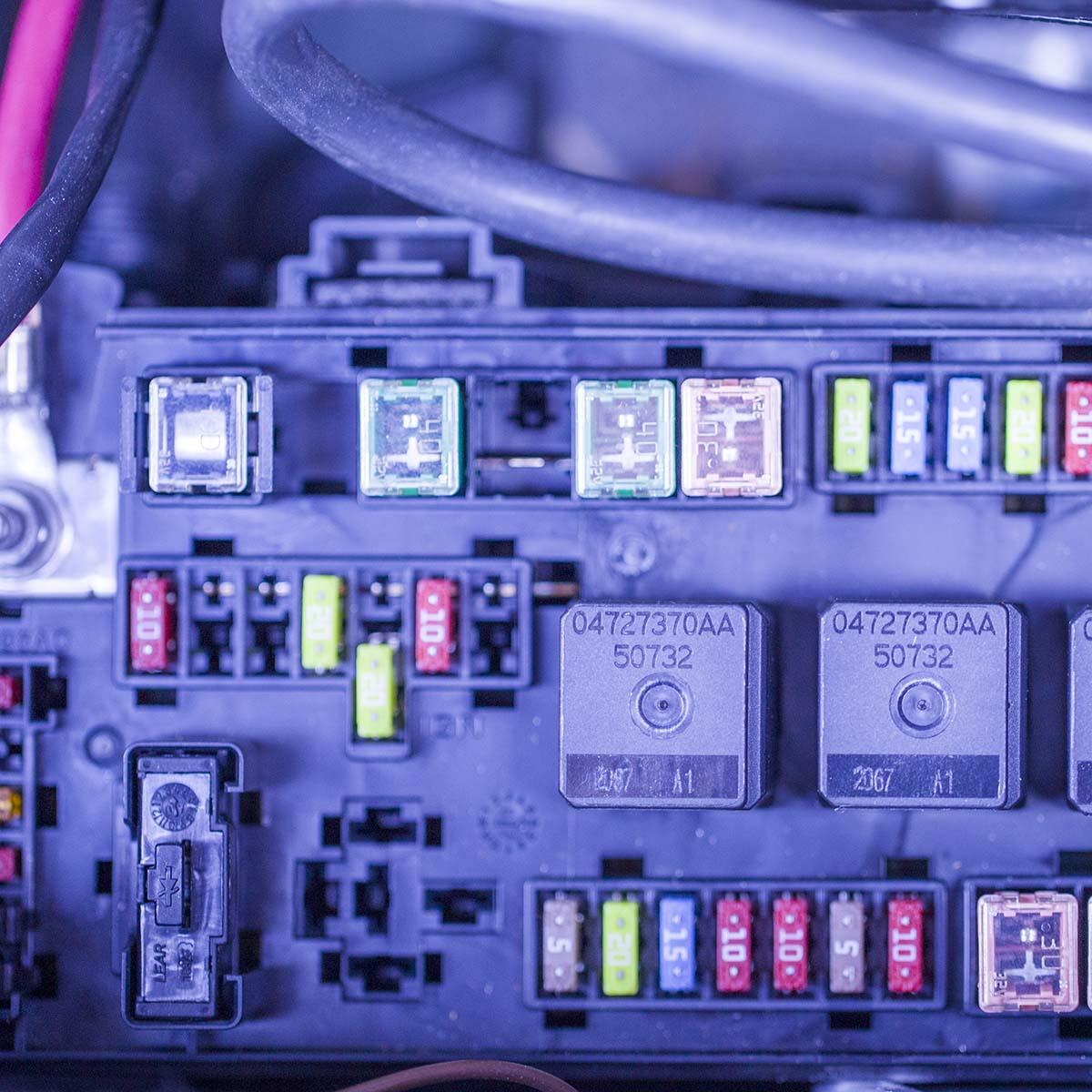 10-30A Trendy Auto Sicherung Versicherungs Stücke Set Durable Zinkfo X